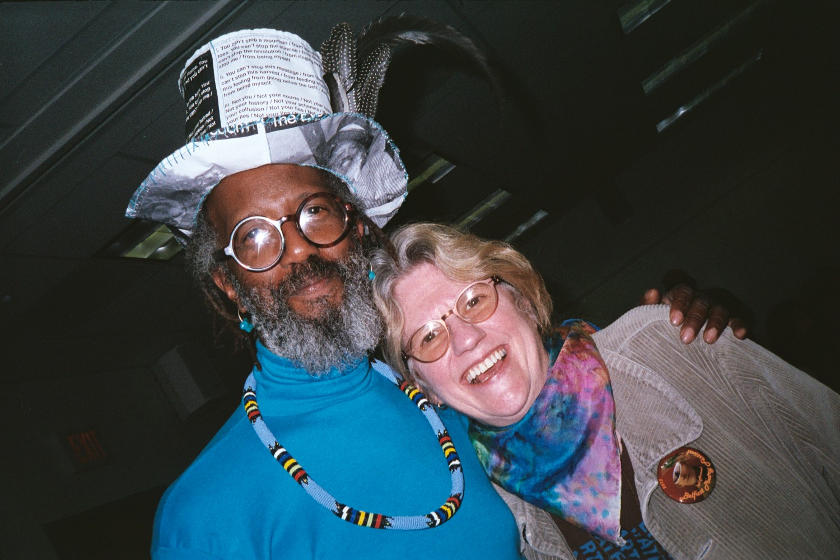 Toussaint St. Negritude and Kathryn Robyn by Sheila Holtz 2013